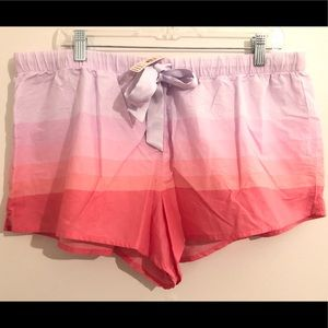 *NWT* Victoria Secret Sleep Boxer Shorts XL